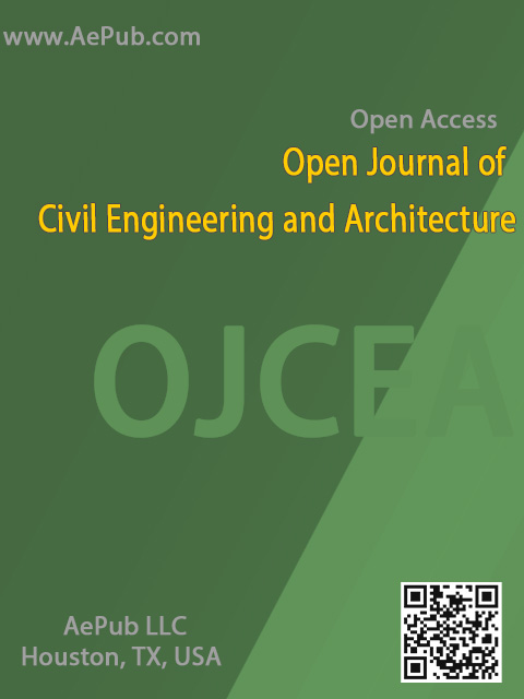 Open Journal of Civil Engineering and Architecture