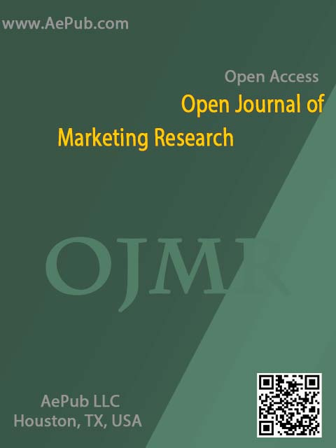 Open Journal of Marketing Research