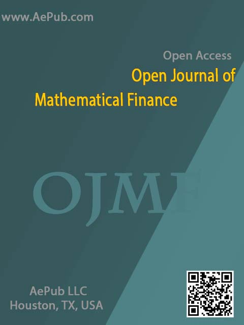 Open Journal of Mathematical Finance