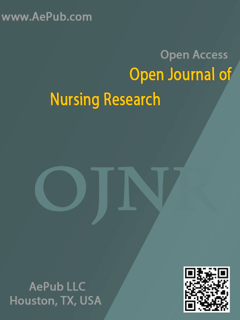 Open Journal of Nursing Research