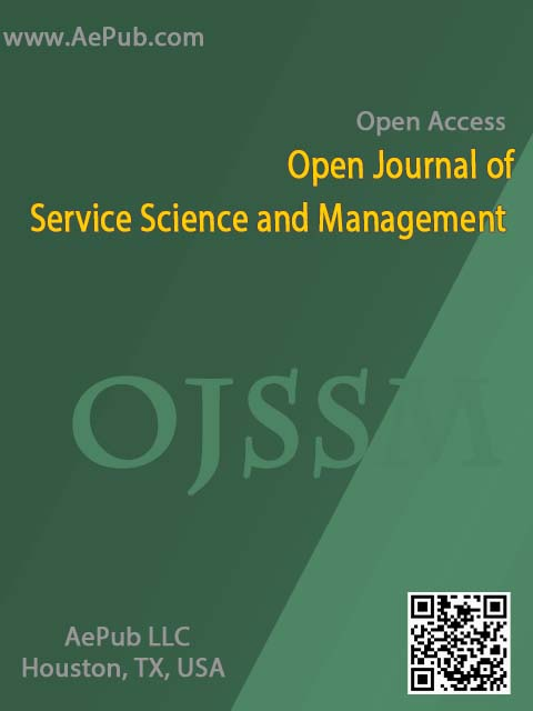 Open Journal of Service Science and Management