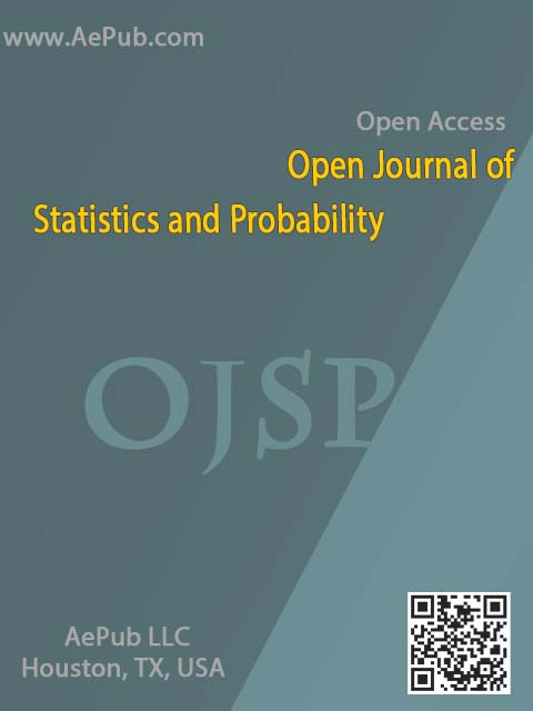 Open Journal of Statistics and Probability